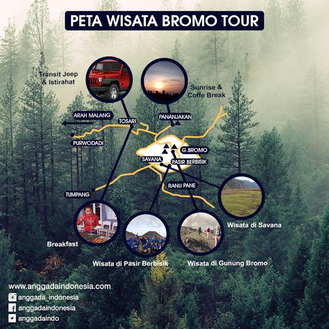 Jalur Wisata Bromo Malang